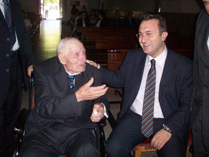 San Giovanni Rotondo NET - Francesco Miscio con il Sindaco Gennaro Giuliani