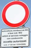 San Giovanni Rotondo NET - Divieto di transito su Viale Cappuccini