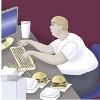 Mangiando al pc