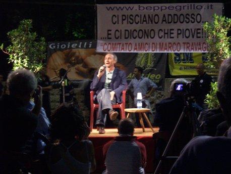 San Giovanni Rotondo NET - Marco Travaglio a San Marco in Lamis