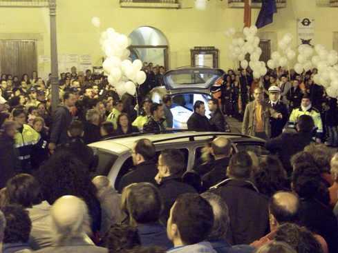 San Giovanni Rotondo NET - Arrivo in città della salma di Luciana Capuano