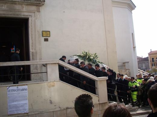 San Giovanni Rotondo NET - Ingresso nella chiesa di San Leonardo