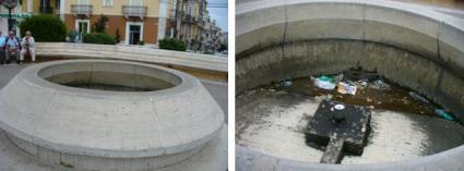 San Giovanni Rotondo NET - Fontana, Piazza Padre Pio