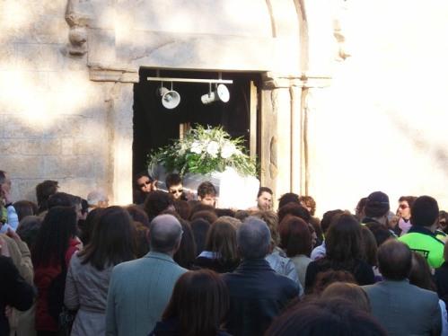 San Giovanni Rotondo NET - Funerali di Ilaria Placentino