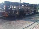 Incendio bus Centra