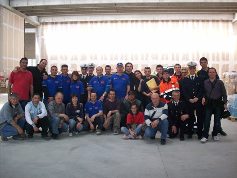 San Giovanni Rotondo NET - Aiuti, seconda spedizione