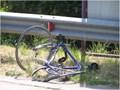 Ciclista, incidente