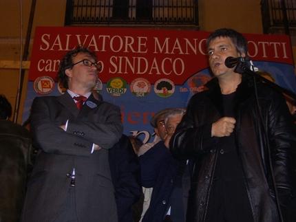 San Giovanni Rotondo NET - Salvatore Mangiacotti con Nichi Vendola