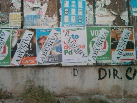 San Giovanni Rotondo NET - Affissioni a San Marco in Lamis