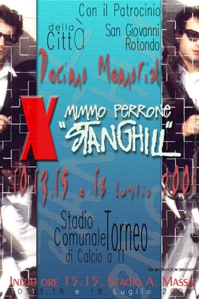 San Giovanni Rotondo NET - 10ª edizione Memorial 'Stanghill'