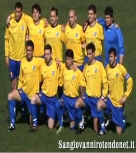 A.C. San Giovanni Rotondo - Formazione iniziale 29ª giornata, stagione 2010-2011