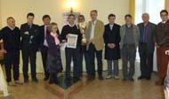 San Giovanni Rotondo NET - Premiazione Campionato Assoluto di Dama Italiana 2008