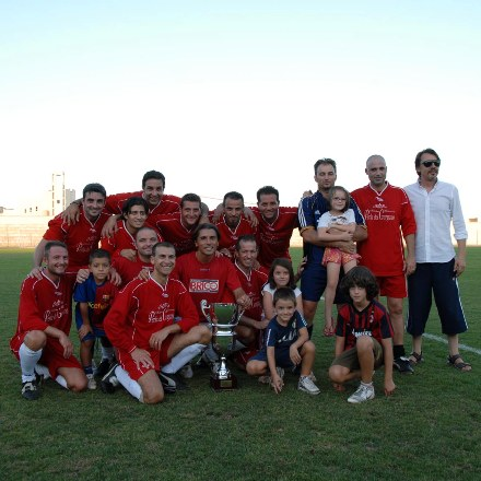 XII Memorial Stanghill - La squadra vincitrice del torneo, Perla del Gargano