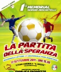 La Partita della Speranza - 1° Memorial Sergio Mischitelli