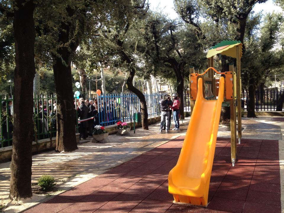 DINTORNI: San Marco inaugura un parco giochi