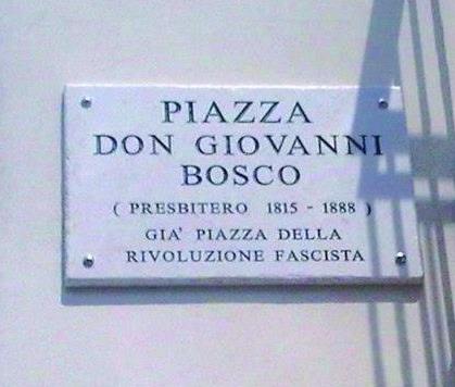 Piazza Don Bosco: La lettera di un socialista