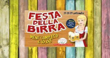 Festa della birra e dei piatti tipici tedeschi