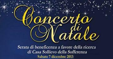 """Spettacolo e solidarietà con """"Concerto di Natale"""""""