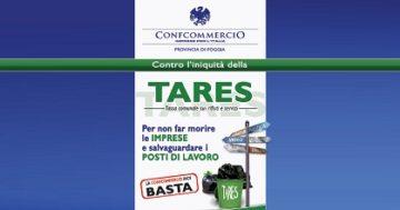 Tares, scendono in campo i sindacati provinciali della Confcommercio