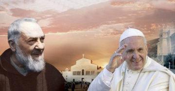 Papa Francesco a Pietrelcina e San Giovanni Rotondo