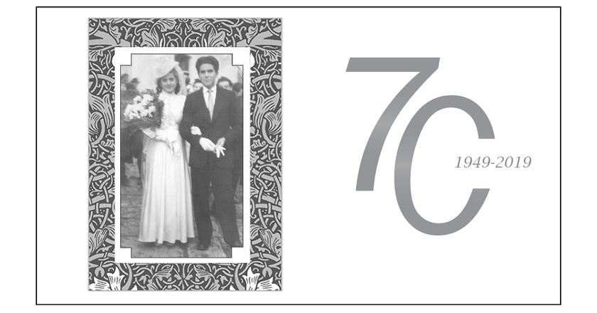 70 Anniversario Di Matrimonio.70 Anni Di Matrimonio Un Traguardo Da Record