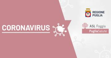 La ASL Foggia attiva numero per emergenza Coronavirus