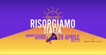 Risorgiamo Italia: domani la manifestazione nazionale