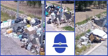 Abbandono di rifiuti, le telecamere incastrano i 'furbetti'