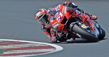 MotoGP: test positivi per Pirro sulla Ducati
