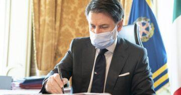 Coronavirus: il Presidente Conte firma nuovo Dpcm