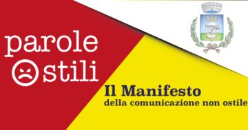"""""""Manifesto della comunicazione non ostile"""""""