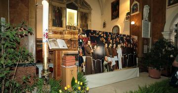 Le ceneri della Carrà a San Giovanni Rotondo per l'ultimo viaggio