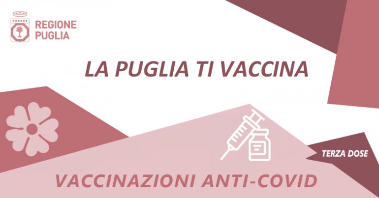 Terza dose vaccino Anticovid, al via le prenotazioni per gli over 60
