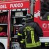 A fuoco deposito in contrada Costarelle