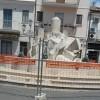 Presto rimossa la fontana 'ossaio' in corso Umberto I