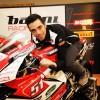 Michele Pirro torna in pista ed è subito podio