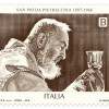 Un francobollo per celebrare San Pio