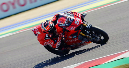 Per Michele Pirro esordio nel mondiale Superbike