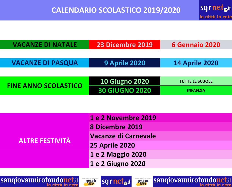 Calendario Maturita 2020.Si Torna Scuola